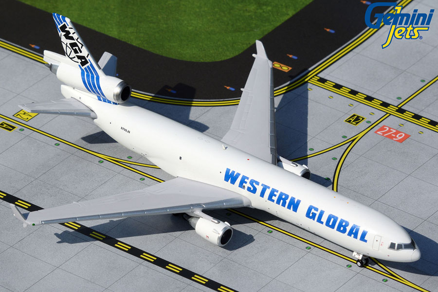 Western Global Airlines MD-11F N799JN (1:400)