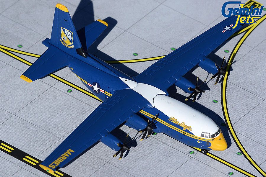 "U.S. Marine Corps C-130J 170000 Blue Angels ""New Livery"" (1:400)"