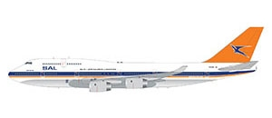 South African B747-400 with polished belly (1:200)