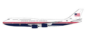 U.S. Air Force One B747-8i proposed livery (1:400)