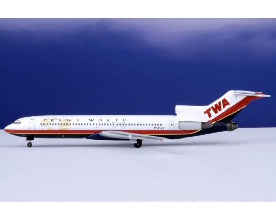 Trans World Airlines B 727-200 N54342 (1:400)