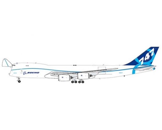 Boeing B747-8F House Livery, Interactive Series N50217 (1:400)